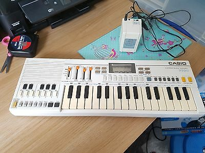 Vintage Casio Pt 30 Electronic Musical Instrument Keyboard Fwo With Plug