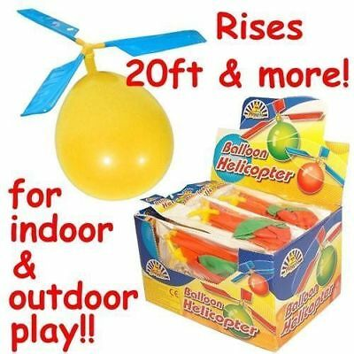 Balloon Helicopter Kids Children's Flying Toy Party Bag Filler