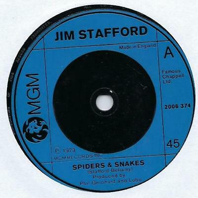 "Jim Stafford - Spiders & Snakes - 7"" Single"
