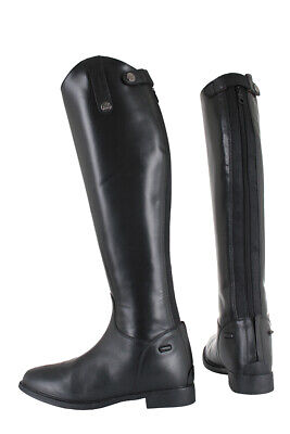 HORKA Leather Junior/Kids Long Riding Boots - Isa - Black