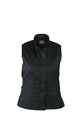 RED HORSE Quilted Gilet/Bodywarmer - Shiny Fabric