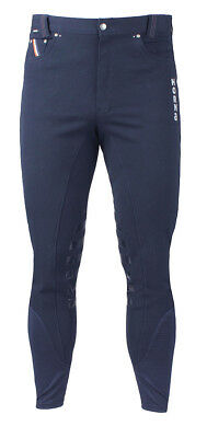 HORKA Mens Oxford Horse Riding Breeches - Blue