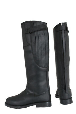 HORKA Black Leather Riding Boot - Freestyle - black