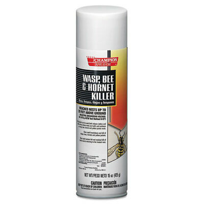 Champion Sprayon Wasp, Bee & Hornet Killer, 15oz, Can, 12/Carton