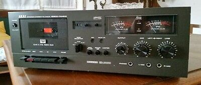 Akai GXC-709D  Tapedeck int. shipping & paypal available
