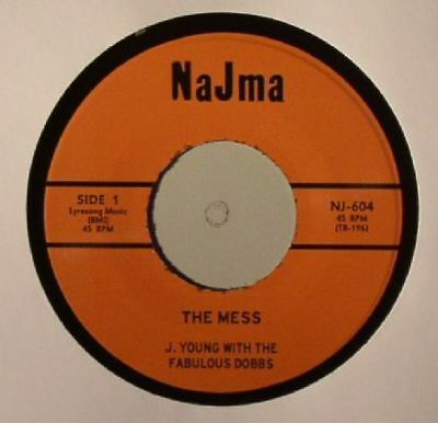 """YOUNG, J - The Mess - Vinyl (7"""" + insert)"""