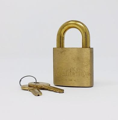 Corbin CCL Brass Marine Padlock New Old Stock Secure Boat Outdoor Water