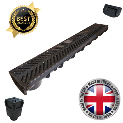 Plastic Drainage Channel for Driveways Linear Aco Drain Channel LibertyPLAS