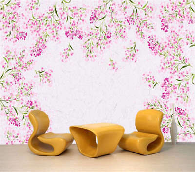 Gushy Flower 3D Full Wall Mural Photo Wallpaper Printing Home Kids Decoration