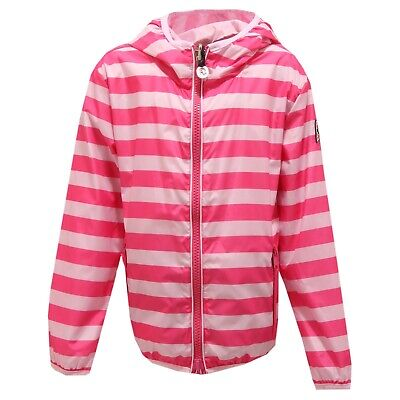 3078T giacca bimba INVICTA antivento fuxia REVERSIBILE jacket kid