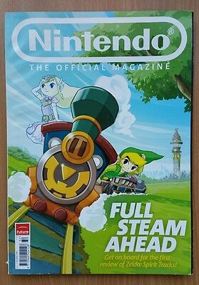 Nintendo Official Magazine - Issue 50 Christmas 2009 Zelda Spirit Tracks Cover