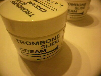 LA TROMBA Trombone slide cream- NEW