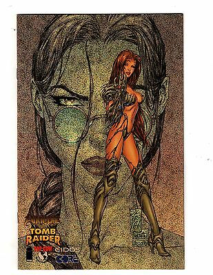 Witchblade Tomb Raider #1 Speckle Foil Silvestri VARIANT Cover