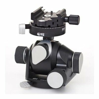 Arca Swiss D4 Geared Tripod Head Quick Set, Classic (Plate Not Included)