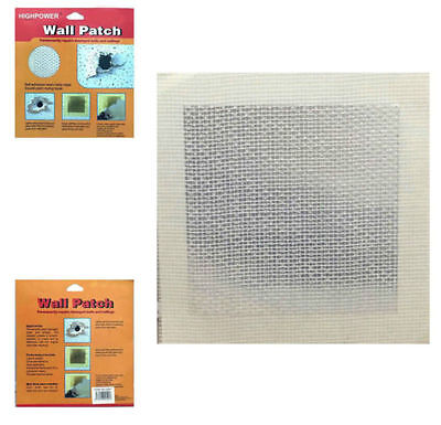 SELF ADHESIVE WALL PATCH REPAIR FOR WALLS CEILING PLASTER UK Seller