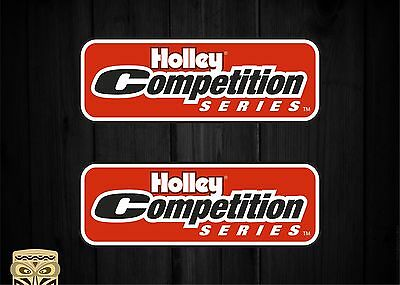 Pegatina Decal Sticker Autocollant  Adesivi  Aufkleber Holley Competition Series