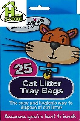 25 Cat litter tray bags