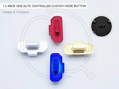 Xbox One Elite Controller Mode Button Key Mod Red Blue Silver Gold Custom