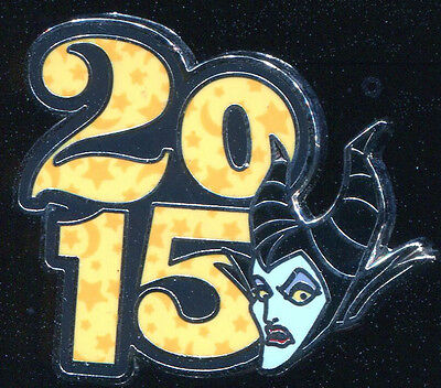 Disney Parks 2015 Dated Booster Maleficent Disney Pin 107588