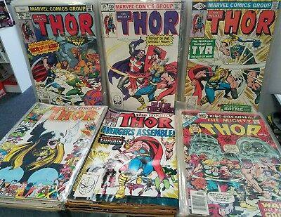 Thor 275-400 + Annuals 5-13 Complete Bronze Full Run Marvel 337 1st Appearance