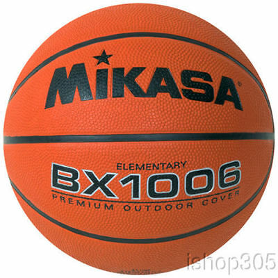 MIKASA BX1006 Youth Basketball Ball Ultra Grip Composite Cover Size 4 Elementary