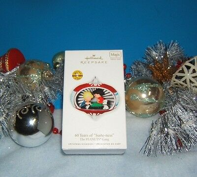 2010 Hallmark Magic 60 Years of Suite-ness The Peanuts Gang New Ornament MIB