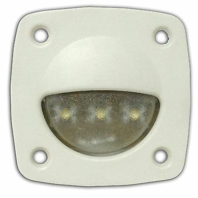 Interior White 12V Courtesy LED Light - Boats, Caravans, RVs - Five Oceans