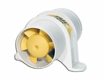 """YellowTAIL 3"""" In-Line 12V Electric Blower for Boats & RVs- Shurflo"""