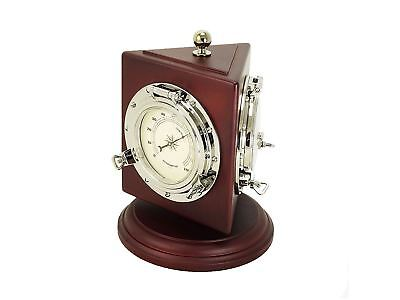 Nautical Themed Weather Station w/ Barometer, Thermometer, & Hygrometer