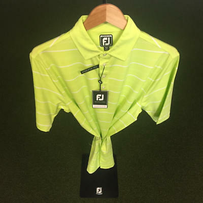 NWT Men's FootJoy Athletic Fit PD Stretch Lisle Shirt M *Discontinued*