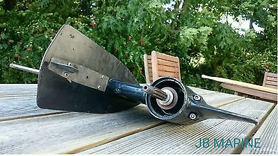 Lower Unit Gearbox Driveshaft Gearcase Selva 35 hp Transmission Outboard Motor