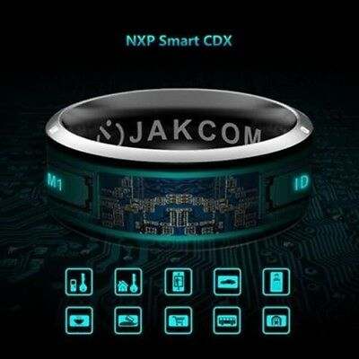 Dual Bluetooth Smart Ring Waterproof Proof for NFC Ring for Samsung Iphone