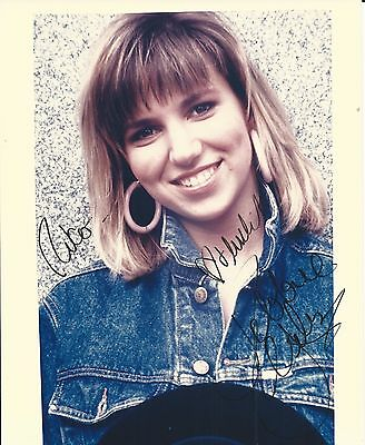 DEBBIE GIBSON Hand Signed 8x10 Autographed Photo With COA