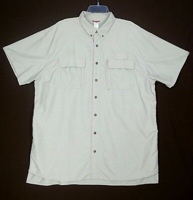 VF SOLUTIONS Men's Shirt Size XXL BSA Button Front Vented SS BOY SCOUTS AMERICA