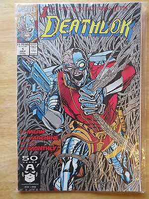 deathlok issue #1 Marvel 1992