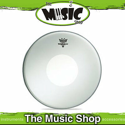 """New Remo 14"""" Coated Controlled Sound Drum Skin with White Dot - CS-0114-00"""