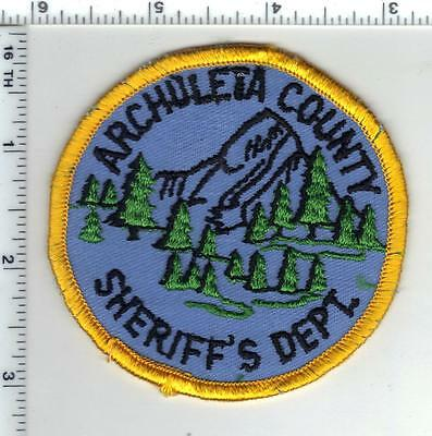 Archuleta County Sheriff's Dept. (Colorado) Shoulder Patch from the Early 1980's