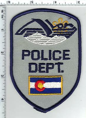 Avon Police (Colorado) Shoulder Patch from the 1980s