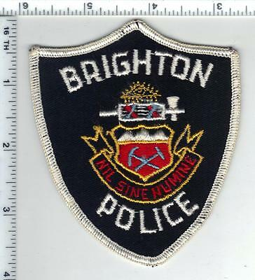 Brighton Police (Colorado) Shoulder Patch - from the 1980's