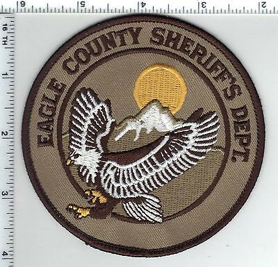 Eagle County Sheriff's Dept. (Colorado) Shoulder Patch from the 1980's
