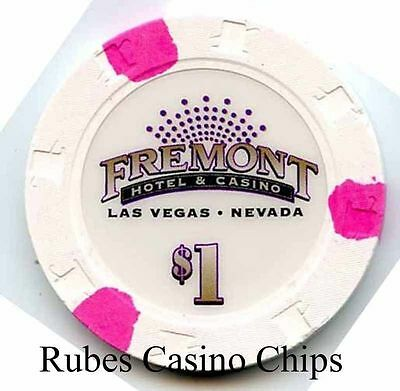 1.00 Chip from the Fremont Casino in Las Vegas Nevada