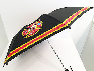 WESTERN CHIEF Boys Kids Umbrella, Fire Rescue, Firefighter, Black/Red/Yellow