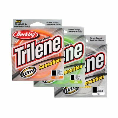 Berkley Trilene Sensation Monofilament 300m Line Ideal For All Bait Fishing P...