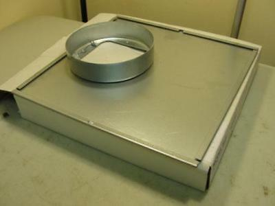 """38087 New In box, Broan 961L In-line Adapter, Duct Size 6 (In), Height 12 1/4"""""""