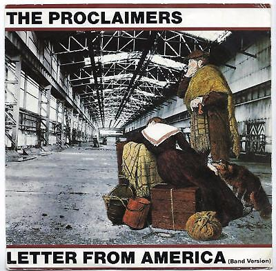 "The Proclaimers - Letter From America - 7"" Single"
