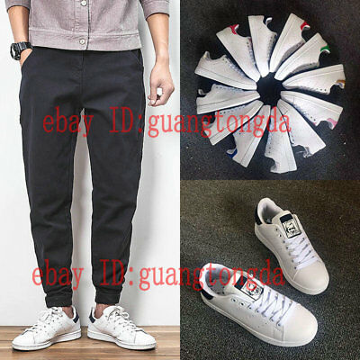 Hot Mens White Stan Smith Shoes Lovers Shoes Casual leisure Shoes Flat Shoes