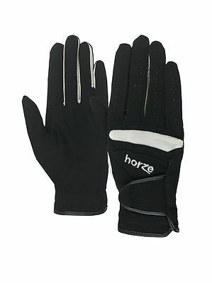 Horze Lyon Synthetic Leather Gloves - Riding/Walking