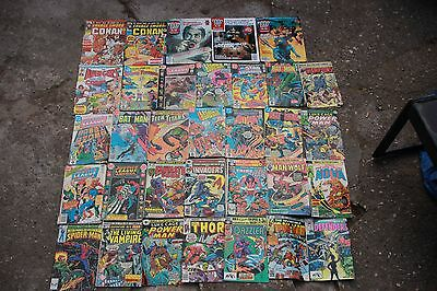 Marvel and DC comics Collection of 33 Comics
