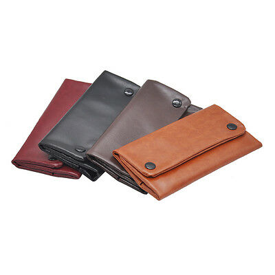 1 X New PU Tobacco Pouch With 78 MM Paper Holder Tobacco wallet Bag Purse Bag