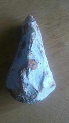 Neolithic flint hamerstone/pick.stunning !!Rare.on p.a.s.uk find